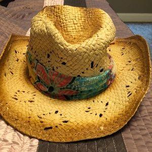 Panama Jack straw ladies hat for sale